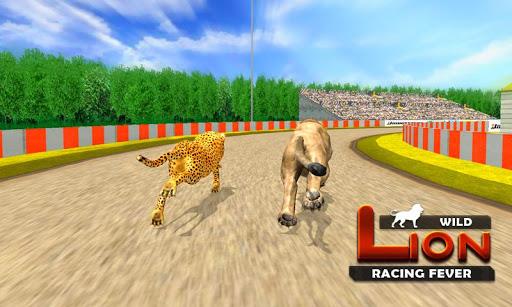 Wild Lion Racing Fever : Animal Racing apkdebit screenshots 5