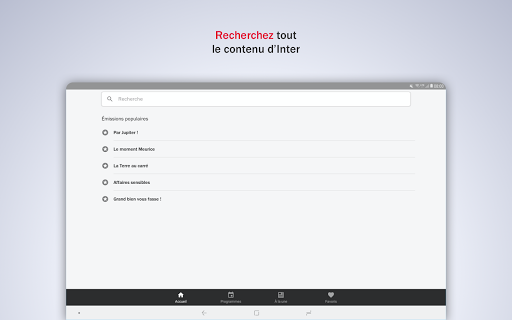 France Inter - radio, podcasts, actu 6.0.0 screenshots 17