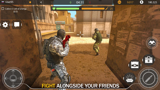 Code of War: Online Gun Shooting Games apkslow screenshots 6