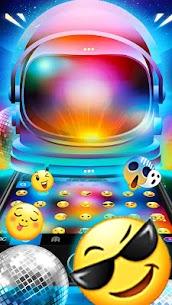 Disco Neon Light Beam Keyboard Theme 1.0 Mod Apk [Newest Version] 2