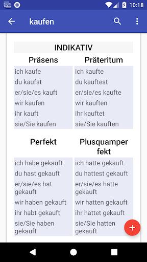 Deutsche Verben screenshots 4