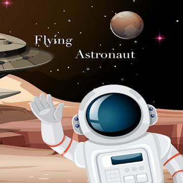 Flying astronaut game