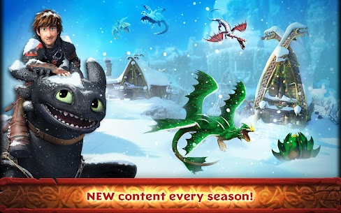 Dragons: Rise of Berk (MOD, Many Runes) 4