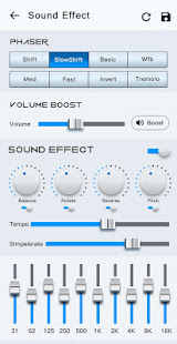 Music Player - Audio Player with Best Sound Effect screenshots 8