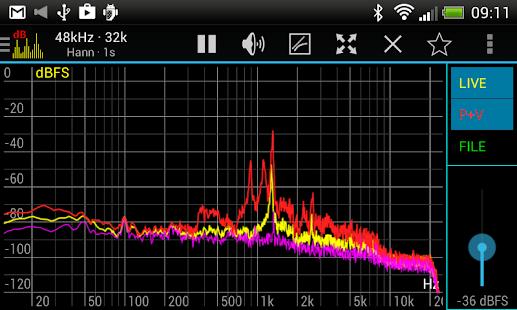 Sound Spectrum Pro Screenshot