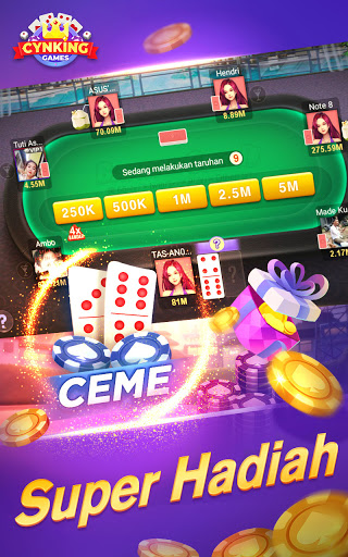 Gaple-Domino QiuQiu Poker Capsa Ceme Game Online 2.19.0.0 screenshots 13