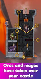 Hero Adventure : Pull the pin - Hero Rescue Puzzle