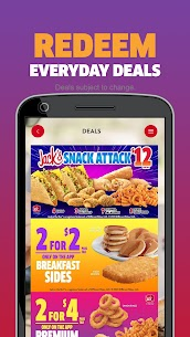 Jack in the Box® – Food Order, Pickup and Delivery Apk Download 2021 5
