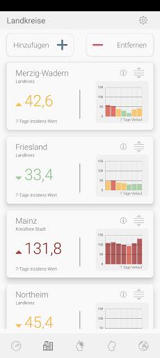 Infekt-Info Fallzahlen Inzidenz Impfungen im Blick modavailable screenshots 4