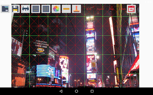 Drawing Grid Maker Screenshot