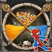 Spider Hero - Rescue Game & Pin Pull