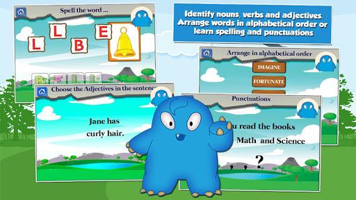 Monster Kid 2nd Grade Games 3.20 screenshots 4