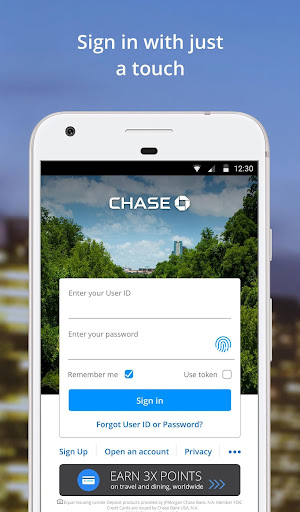 Foto do Chase Mobile
