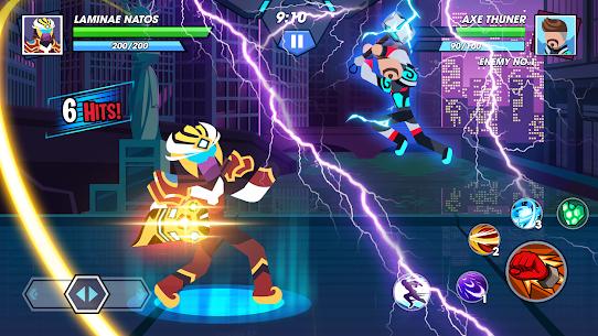 Stickman Fighter Infinity – Super Action Heroes 4