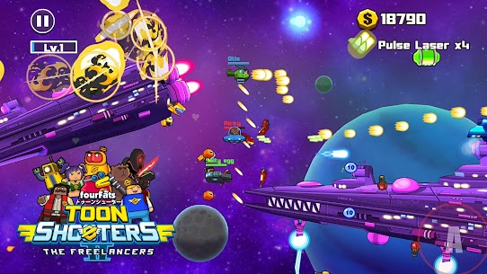 Toon Shooters 2 MOD (Unlimited Money/Gems) 4