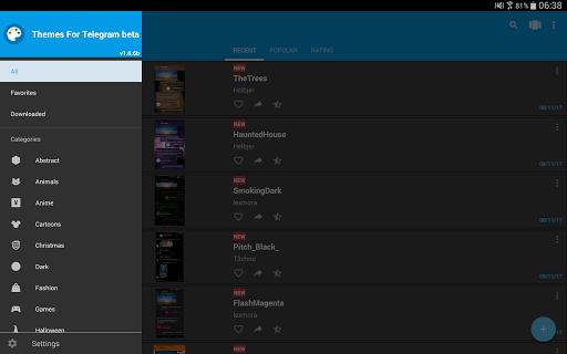 Themes for Telegram 1.2.7 Screenshots 6