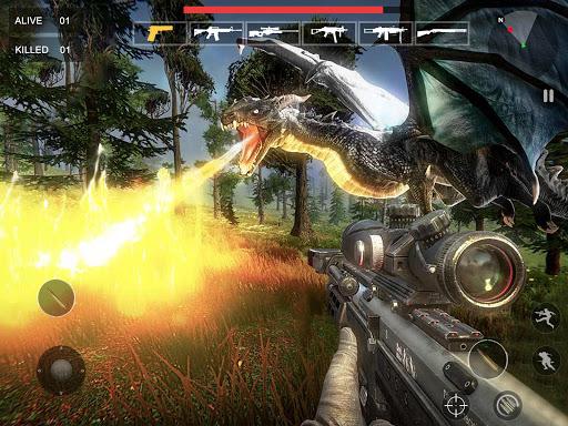 Flying Dragon Hunter : Dragon Shooting Games 1.1.3 screenshots 11