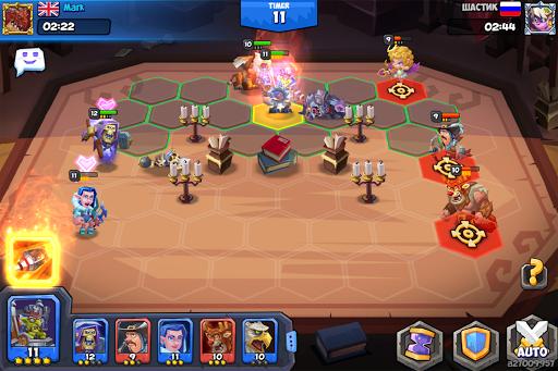 Tactical Monsters Rumble Arena -Tactics & Strategy screenshots 8