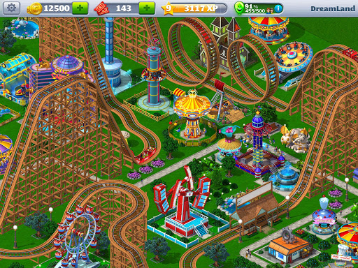 rollercoaster tycoon® 4 mobile screenshot 1