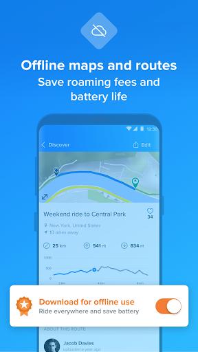 Bikemap - Your Cycling Map & GPS Navigation screenshots 3