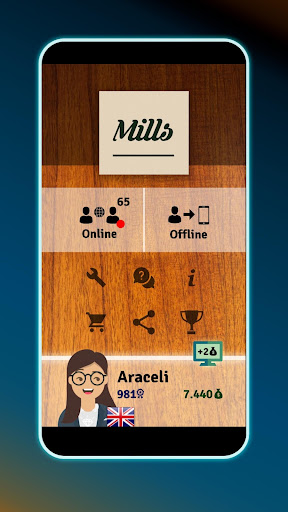 Mills | Nine Men's Morris - Free online board game 1.124 screenshots 7