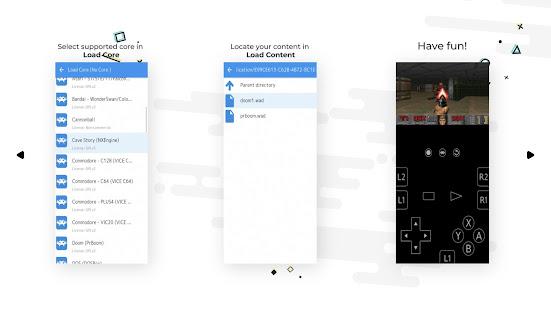 RetroArch 1.9.8 (2021-08-22) screenshots 3