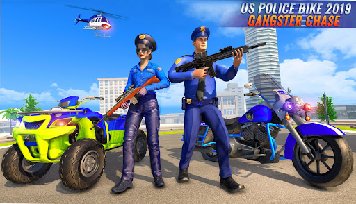 US Police Bike 2020 - Gangster Chase Simulator 3.0 Screenshots 4