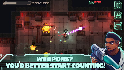 Endurance: infection in space (2d space-shooter)  screenshots 1