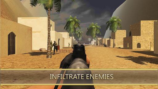 Desert Hawks: Soldier War Game Apkfinish screenshots 8