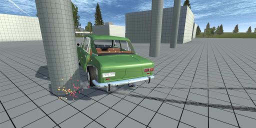 Simple Car Crash Physics Simulator Demo 1.1 screenshots 1