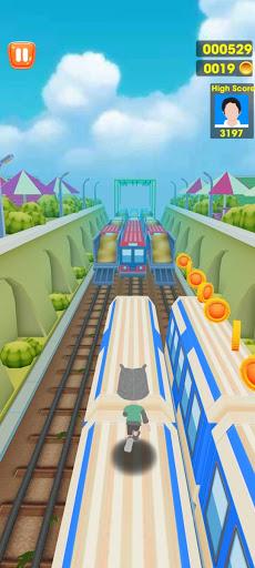 Subway Train Tracking Surf Run 1.0.4 screenshots 4