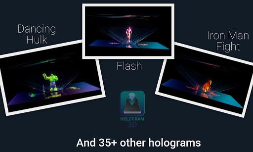 Hologram 3D - Phone Projector 3.3.0 screenshots 4