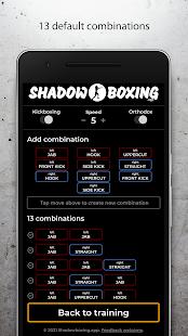 Shadowboxing.app Boxing workout combo generator