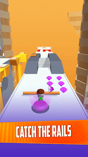 Rail Run: Sliding Run on Roof 1.0.36 screenshots 1