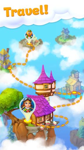 Floating islands: Match-3  screenshots 2
