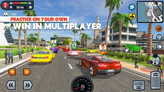 🚓🚦Car Driving School Simulator 🚕🚸 Screenshot