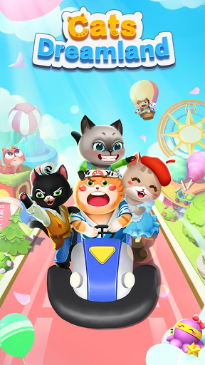 Cats Dreamland:  Free Match 3 Puzzle Game apkpoly screenshots 1