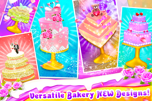 Wedding Cake Shop - Cook Bake & Design Sweet Cakes 1.1.1 screenshots 13