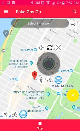 Fake GPS Go 0.5.3 Screenshots 2