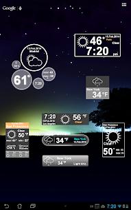 Weather Clock 9