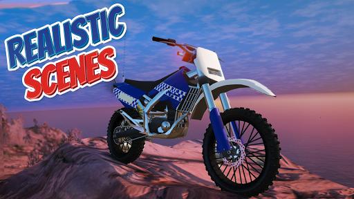 Police Bike Stunt Games : 3D Mega Ramp Stunts Game  screenshots 7