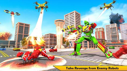 Drone Robot Transforming Game 2.3 screenshots 6