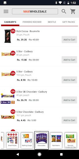 maxwholesale - kirana wholesale! screenshot 2