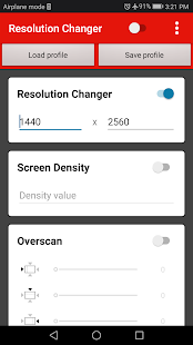 Screen Resolution Changer: Display Size & Density 2.0 Screenshots 7