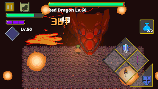 Dungeon Quest Action RPG - Labyrinth Legend 1.26 screenshots 1