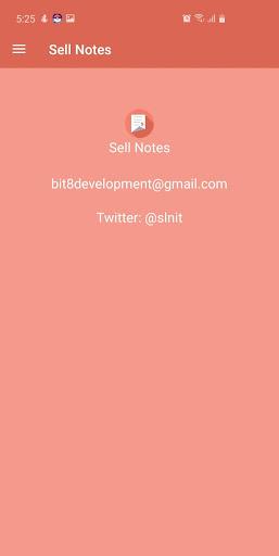 Sale notes  screenshots 1
