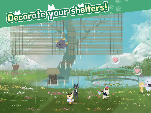 Cat Shelter and Animal Friends: Idle Relaxing Game  screenshots 11
