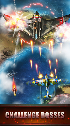 Top Fighter: WWII airplane Shooter modavailable screenshots 13