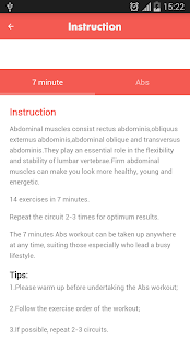 Abs workout 7 minutes