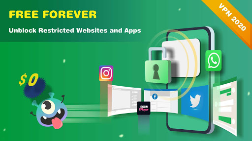 Monster VPN - Free Forever & Security VPN Proxy  screenshots 1